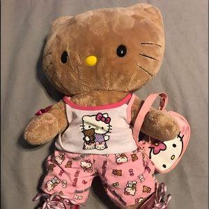 Hello Kitty Build a Bear stuff Animal